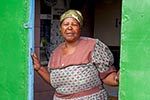 South_Africa;South_African;Africa;persons;people;South_Africans;woman;women;female;person;people;South_Africans;Soweto;Gauteng;Woman;home;squatter;camp;community