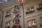 Switzerland;Schweiz;Suisse;Svizzera;Swiss;Europe;Europa;Architecture;Art;Art_history;Bern;Berne;Marksman_fountain;Medieval;Schützenbrunnen;UNESCO;World_Heritage_Site