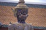 Thailand;Thai;Siam;Siamese;Southeast_Asia;Asia;Architecture;Art;Art_history;Buddhism;Buddhist;religion;faith;beliefs;creed;Sculpture;Bangkok;Guard;statue;Wat_Phra_Kaeo
