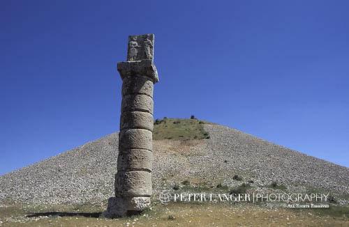 Turkey;Turkish;Asia;Europe;Ancient;Archaeology;Art;Art history;Hellenism;Sculpture;UNESCO;World Heritage Site;Karakus Tumulus;Adiyaman;Relief;Kings;God
