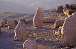 Turkey;Turkish;Asia;Europe;Adiyaman;Antiochus_I;Archaeology;Art;Art_history;Hellenism;Mausoleum;Nemrut_Dag;ruler;Commagene;sunset;Sculpture;Statuary;UNESCO;Western_Terrace;World_Heritage_Site;Ancient