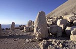 Turkey;Turkish;Asia;Europe;Adiyaman;Antiochus_I;Archaeology;Art;Art_history;Hellenism;Heracles;Mausoleum;Nemrut_Dag;ruler;Commagene;Sculpture;Statue;UNESCO;Western_Terrace;World_Heritage_Site;Ancient