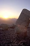 Turkey;Turkish;Asia;Europe;Adiyaman;Antiochus_I;Archaeology;Art;Art_history;Epiphanes;Hellenism;Mausoleum;Nemrut_Dag;ruler;Commagene;sunset;Sculpture;Statue;UNESCO;Western_Terrace;World_Heritage_Site;Ancient