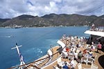 US_Virgin_Islands;Virgin_Islands;Caribbean;Americans;Antilles;boats;cruise_ships;cruising;groups;people;holidays;islands;liner;marine;tourism;transportation;travel;tropical;USA;United_States_of_America;USA;vacations;vessels;West_Indies;St_Thomas;Charlotte_Amalie