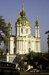Ukraine;Ukrainian;Europe;Eastern_Europe;Europa;Art;Art_history;Baroque;beliefs;Christianity;Christian;creed;Eastern_Orthodox;faith;Kiev;religion;St_Andrews_Church;UNESCO;World_Heritage_Site;Architecture