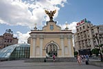 Ukraine;Ukrainian;Europe;Eastern_Europe;Europa;Soviet_Union;Kiev;Kyiv;monument;Archangel_Michael;Maidan_Nezalezhnosti;Independence_Square