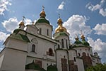 Ukraine;Ukrainian;Europe;Eastern_Europe;Europa;Art;Art_history;Baroque;beliefs;Christianity;Christian;creed;Eastern_Orthodox;faith;Kiev;religion;Saint_Sophia_Cathedral;UNESCO;World_Heritage_Site;Architecture