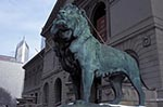 Americans;Art;Art_history;Beaux_Arts_style;North_America;Sculpture;USA;United_States_of_America;USA;Illinois;United_States;Lion;sculpture;Art_Institute_of_Chicago;museum