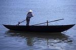 Vietnam;Vietnamese;Asia;Indochina;Southeast_Asia;female;people;person;persons;people;woman;women;Da_Nang;Da_Nang;Woman;rowing;boat;Han;river