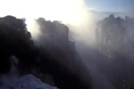Zimbabwe;Zimbabwean;Africa;cascades;dawn;Devils_Cataract;Matabeleland_North;Mosi_oa_Tunya;rivers;streams;UNESCO;Victoria_Falls;water;waterfalls;World_Heritage_Site;Zambia